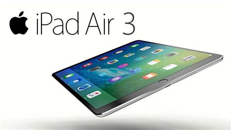 Apple Air 3 apple air 3 concept the air redesigned