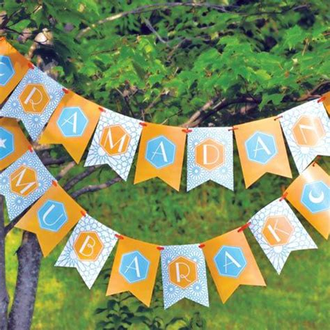 Free Printable Eid Banner | 15 lovely eid mubarak craft ideas decorazilla design blog