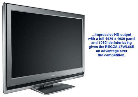 Second Tv Toshiba Regza looks toshiba regza 47wl66e 47 inch lcd tv hardwarezone ph