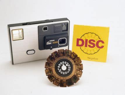 kodak disc 4000 camera with film, 1982 1984. at science