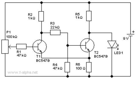 bipolar transistor grundschaltungen f alpha net experiment 1 trigger