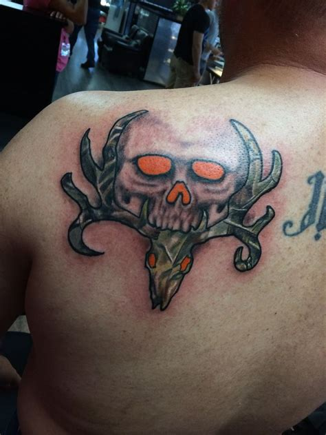 tattoo skull tribal bone collector tattoos search