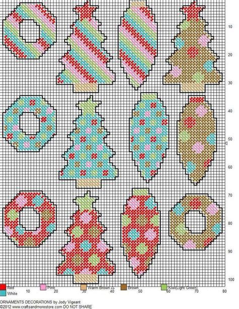 christmas patterns plastic canvas christmas ornaments plastic canvas 742 215 960 printable
