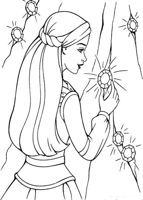 barbie majesty coloring pages dla dziewczyn kolorowanki barbie magia pegaza do wydruku