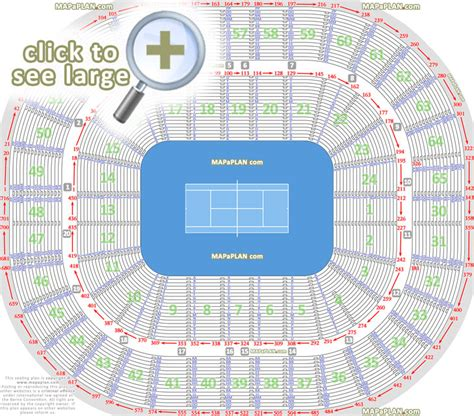 rod laver arena floor plan melbourne rod laver arena seat numbers detailed seating