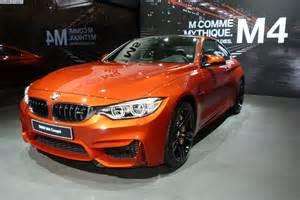 2014 motor show bmw m4 coupe in sakhir orange