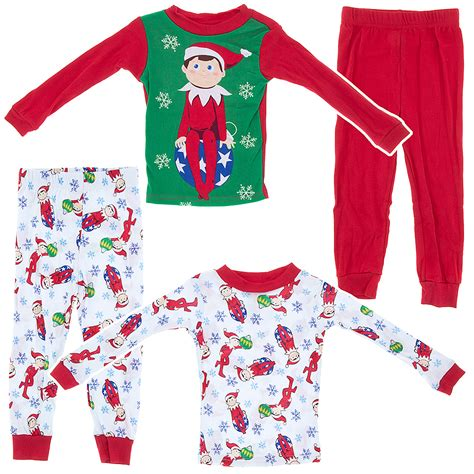On The Shelf Pajamas Boys by On The Shelf Decorations Cotton 2 Pack Pajama Set For Boys