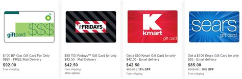 Purchase Gift Cards At Discount - 100 sears gift card only 85 more gift card deals