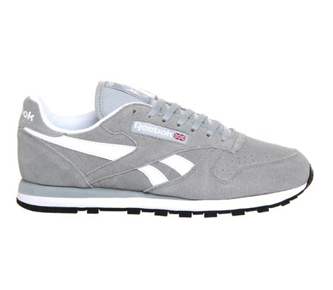 Reebok Gray by Reebok Classic Leather In Gray For Grey Lyst