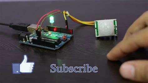 arduino code pir sensor pir motion sensor with arduino doovi