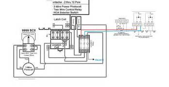 wiring diagram for photocell light dusk to photocell