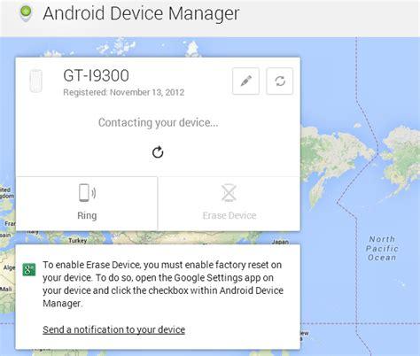 tutorial android device manager como rastrear um celular android usando o servi 231 o oficial