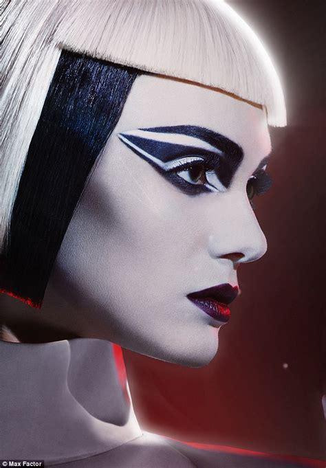Line Karakter Lipstik wars partners with max factor on new make up line daily mail