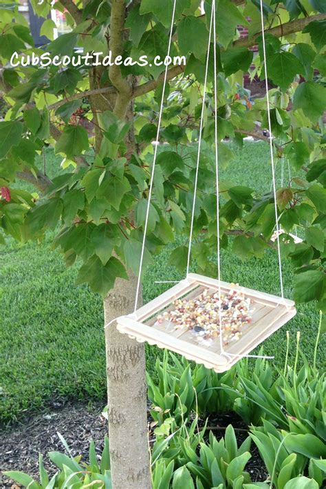 Ideas For Bird Feeders cub scouts easy bird feeders for cub scout ideas