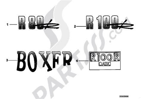 Bmw Classic Aufkleber by Sticker Bmw R100r R100r 2473