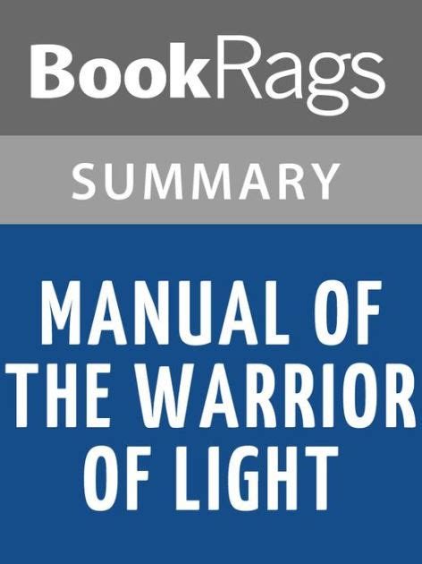 libro manual of the warrior manual of the warrior of light by paulo coelho l summary study guide by bookrags nook book