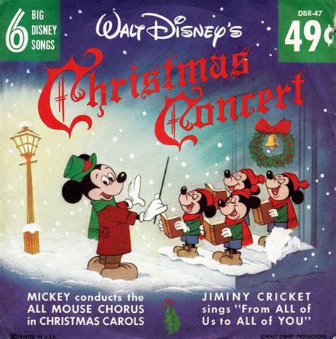 walt disney s christmas concerts cartoon research