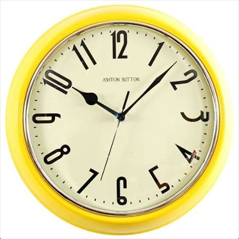 yellow kitchen clock pin by boone on it s called project