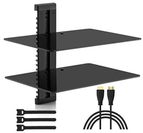 floating shelves for tv equipment 3 style choices