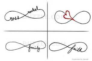 Infinity With Name Infinity Name On