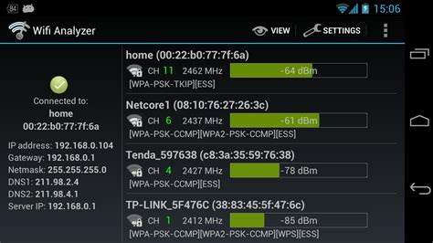 wifi app for android wifi analyzer android apps on play