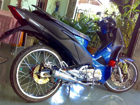 Mesin X supra 125 modif touring images