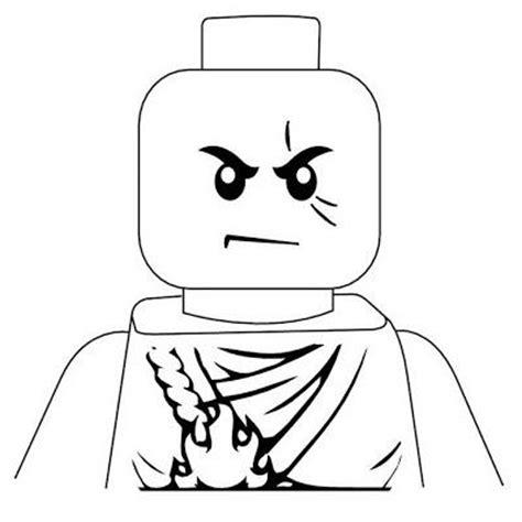 ninjago face coloring pages een lego ninjago kinderfeestje