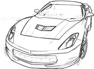 corvette coloring pages corvette stingray coloring page corvette car coloring