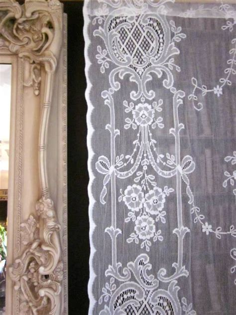 vintage looking curtains vintage lace curtains vintage ephemera nottingham lace
