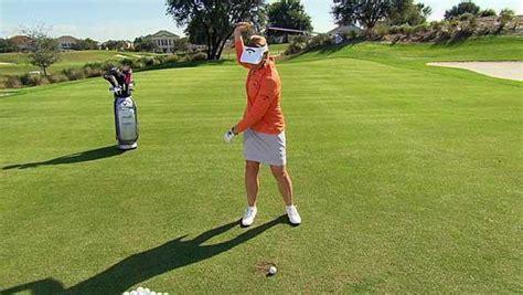 annika golf swing annika sorenstam bunker shot tips golf channel