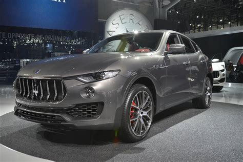 maserati models 2016 new york 2016 maserati levante gtspirit