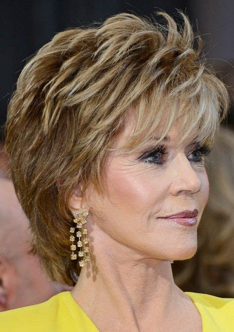 how to cut fonda hairstyle 2014 jane fonda s short hairstyles shaggy pixie cut with