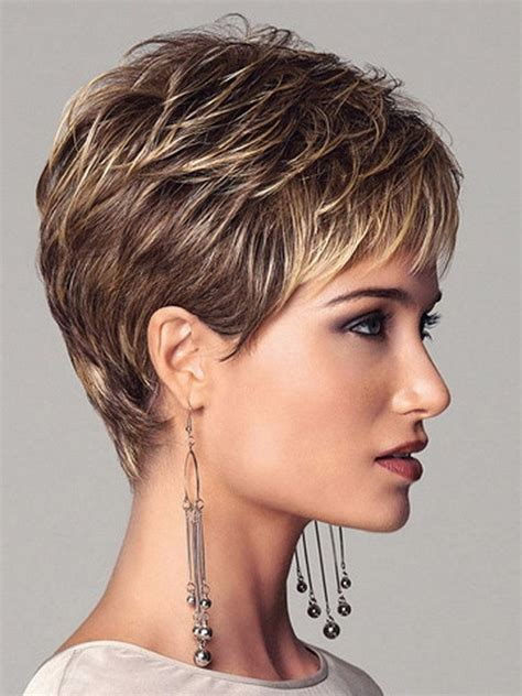 brown pixie with blonde highlights new coming 2016 highlights blonde short female haircut