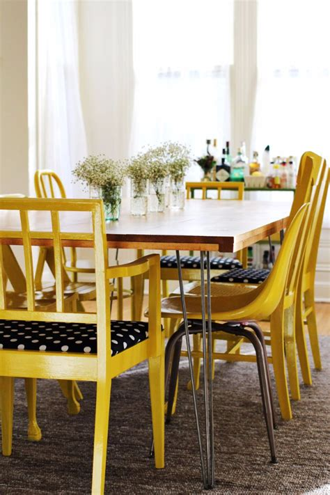 diy kitchen table ikea legs 38 diy dining room tables