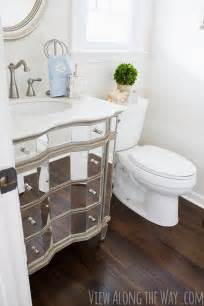 Half Bathroom Makeovers by Decorating A Powder Half Bathroom Before And After