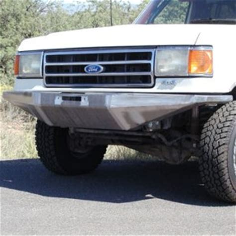 87 91 rock solid front bumper w/ winch mount wild horses