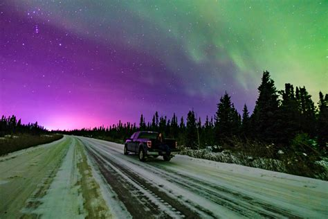 northern lights of year chasing the northern lights on year s in labrador