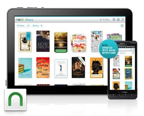 nook for android nook for android update adds nook newsstand android central