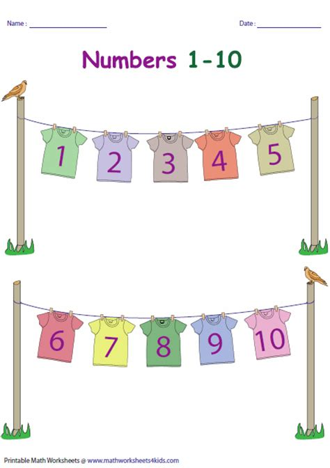 printable display number line to 100 number charts