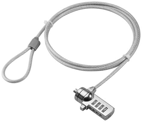 Dijamin Notebook Lock With Number Combination laptop notebook combination security lock cables4all