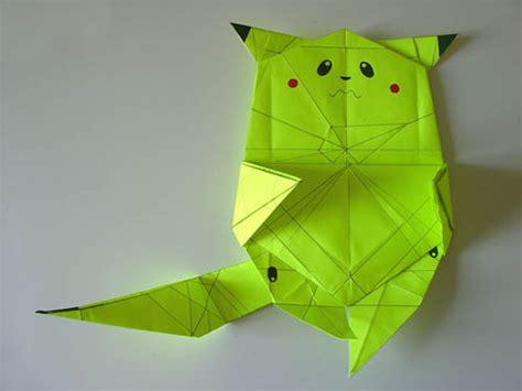 Origami Pikachu Box - pikachu origami box comot