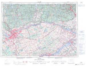topographic map free printable topographic map of ottawa 031g on
