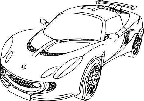 Coloriage De Voiture De Course Lamborghinil L