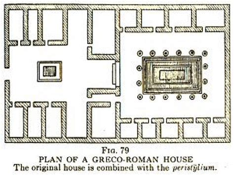 ancient roman house floor plan modern roman villa house design