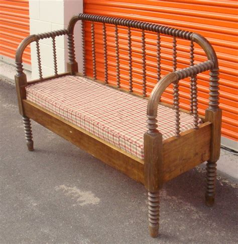 bed into bench convert a jenny lind bed into a bench home decor pinterest