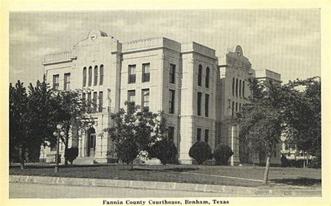 Fannin County Court Records History Of Fannin County Access Genealogy