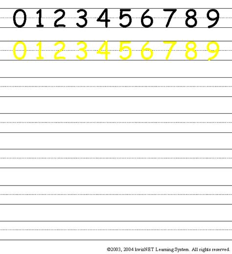 Number Handwriting Worksheets by Number Writing Practice 1 10 Search Results Calendar 2015