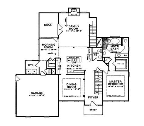 webster oak revival home plan 076d 0032 house
