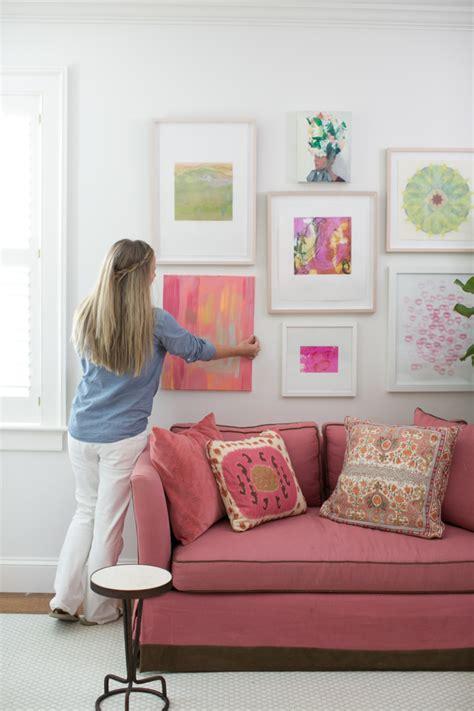 außergewöhnliche wandgestaltung wohnzimmer ideen beige
