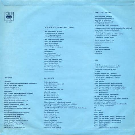 miele il giardino dei semplici testo il giardino dei semplici biografia discografia canzoni